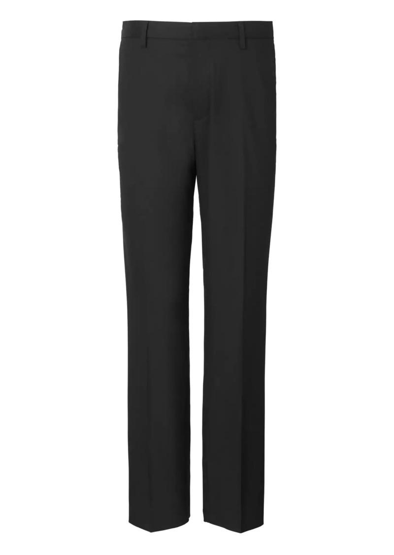 Banana Republic Slim Solid Non-Iron Stretch Pant