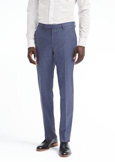 Banana Republic Slim Solid Wool Suit Trouser