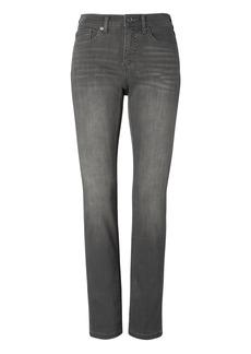 Slim-Straight Gray Wash Jean