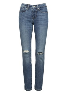 Slim-Straight Medium Wash Jean