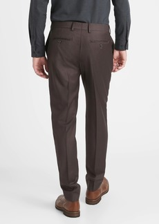 Banana Republic Slim-Tapered Italian Sharkskin Suit Pant