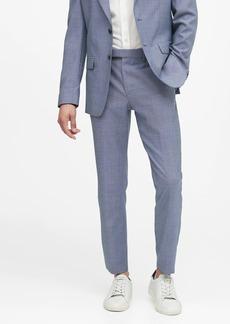 Banana Republic Slim Tapered Italian Wool Suit Pant