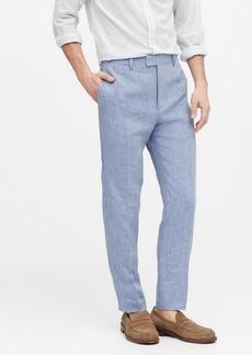 Banana Republic Slim Tapered Linen Suit Pant