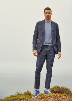 Banana Republic Slim Tapered Stretch-Cotton Suit Pant