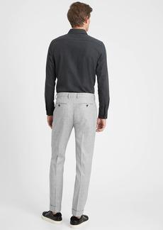 Banana Republic Slim Tapered Flannel Suit Pant in Responsible Wool