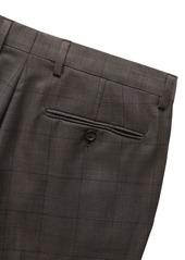 Banana Republic Slim Windowpane Italian Wool Suit Pant