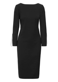 Banana Republic Slit-Sleeve Sheath Dress
