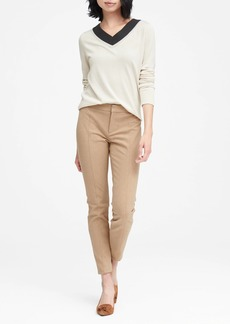 Banana Republic Sloan Skinny-Fit Brushed Pant