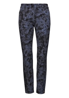 Banana Republic Sloan Skinny-Fit Floral Ankle Pant