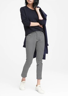 Banana Republic Sloan Skinny-Fit Gingham Ankle Pant