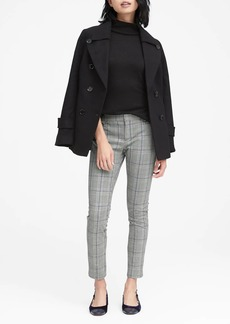 Banana Republic Sloan Skinny-Fit Plaid Ankle Pant