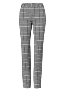 Banana Republic Sloan Skinny-Fit Plaid Pant