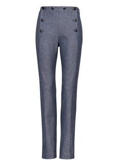 Banana Republic Sloan Skinny-Fit Sailor Ankle Pant