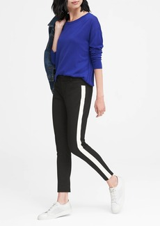 Banana Republic Sloan Skinny-Fit Side-Stripe Ankle Pant