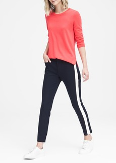 Banana Republic Sloan Skinny-Fit Side-Stripe Ankle Pant