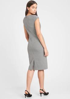 Banana Republic Sloan Square-Neck Sheath Dress