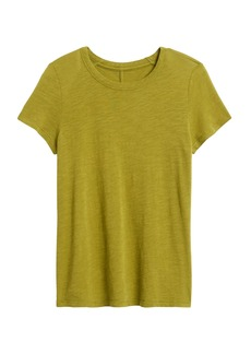 Banana Republic Slub Cotton-Modal Crew-Neck T-Shirt