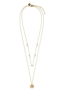 Banana Republic Small Floral Layered Necklace