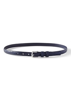 Banana Republic Snake-Effect Leather Small Trouser Belt