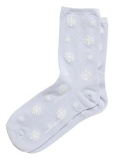 Banana Republic Snowflake Crew Sock