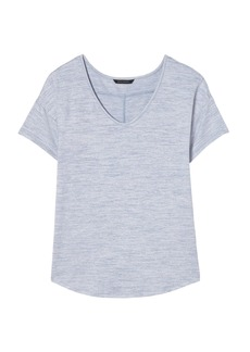 Banana Republic Soft Jersey Swoop-Neck T-Shirt