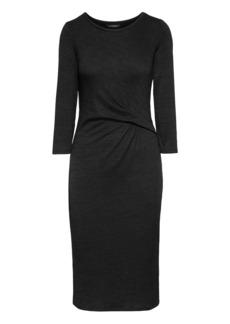 Banana Republic Soft Jersey Twist Front Dress
