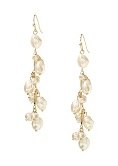 Banana Republic Soft Pearl Linear Earring