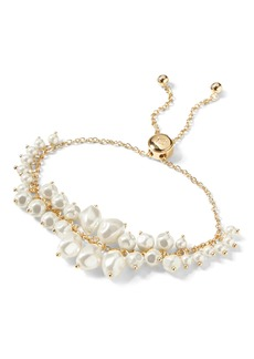 Banana Republic Soft Pearl Slider Bracelet