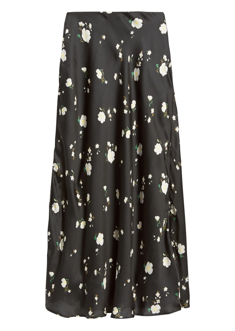 Banana Republic Soft Satin Slip Skirt
