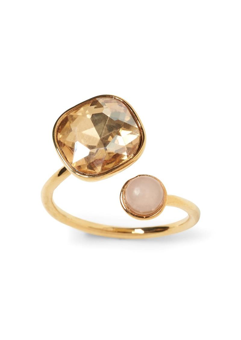 Banana Republic Soft Stones Asymmetrical Ring