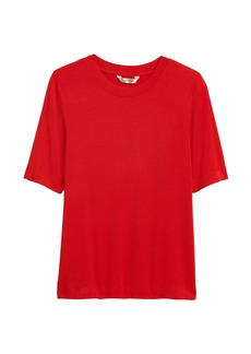 Banana Republic Soft Stretch Modal Crew-Neck T-Shirt