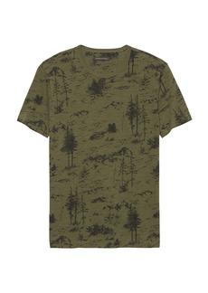 Banana Republic Soft Wash Forest Print T-Shirt