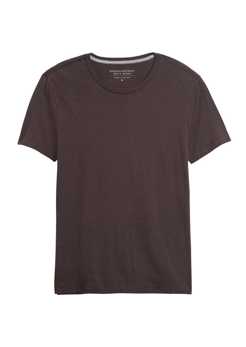 Banana Republic Soft Wash Crew-Neck T-Shirt