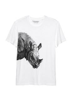 Banana Republic Soft Wash Graphic T-Shirt