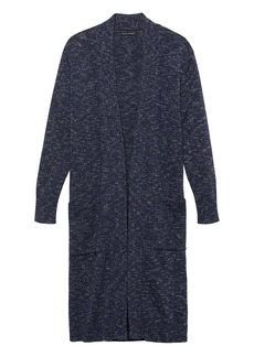 Banana Republic Space Dye Long Duster Cardigan