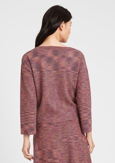 Banana Republic Sparkle Bell-Sleeve Sweater