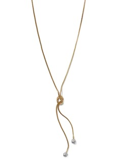 Banana Republic Sparkle Chain Lariat Necklace