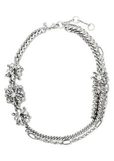 Banana Republic Sparkle Flower Necklace