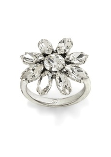 Banana Republic Sparkle Flower Ring
