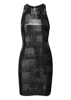 Sparkle Stripe Shift Dress