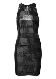 Banana Republic Sparkle Stripe Shift Dress