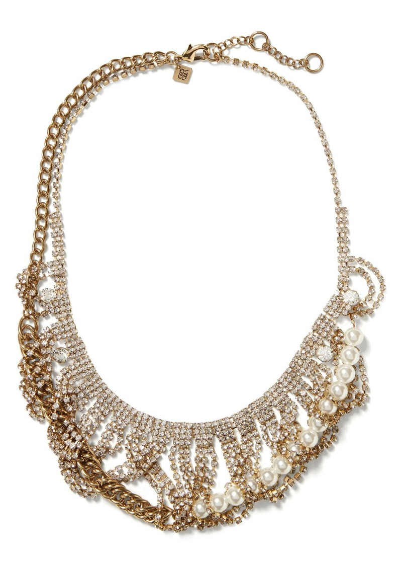 Banana Republic Sparkle Swag Necklace