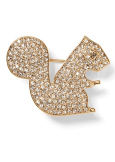 Banana Republic Squirrel Brooch