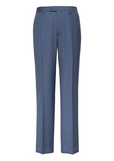 Banana Republic Standard Blue Italian Wool Suit Pant