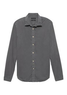 Banana Republic Standard-Fit Cotton Twill Shirt