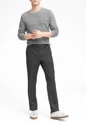 Banana Republic Standard Italian Wool Plaid Suit Pant