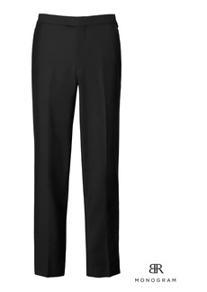 Banana Republic Monogram Standard Italian Wool-Mohair Tuxedo Pant