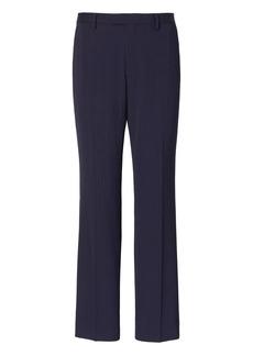 Banana Republic Standard Navy Pinstripe Wool Suit Pant