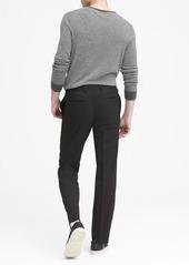 Banana Republic Standard Solid Italian Wool Suit Pant