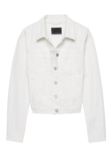 Banana Republic Stain-Resistant Classic Denim Jacket
